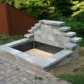 Stone Work, Play Areas & other extras